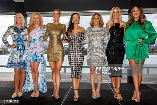 Janet Roach, Gamble Breaux Cherry Dipietrantonio , Kyla Kirkpatrick, Anjali Rao, Simone Elliott, Jackie Gillies and attends the cast announcement for...