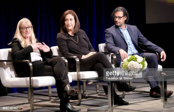 Janet Root founder and CEO of NUTOPIA Debra Diamond curator of south and southeast Asian art Smithsonian Institute and David Olusoga BritishNigerian...