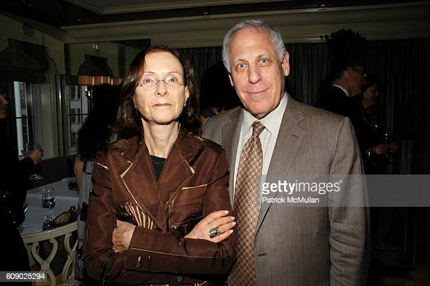 Janet Rosen and Marvin Rosen attend BERGDORF GOODMAN hosts cocktails to introduce the MARTHA O'BRIEN JEWELRY Collection at 7th Floor on May 9 2007 in...