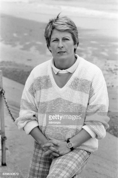 Janet Ross former Secretary and girlfriend of actress Julie Goodyear October 1986