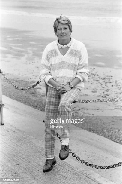 Janet Ross former Secretary of actress Julie Goodyear October 1986