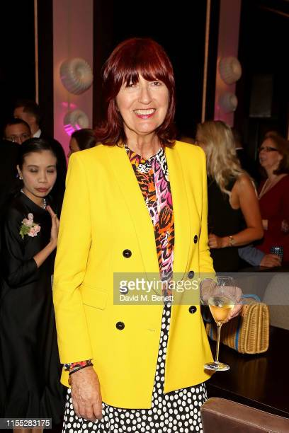 Janet Street Porter attends the Reinvented and Reimagined Mandarin Oriental Hyde Park London relaunch party on June 11 2019 in London England