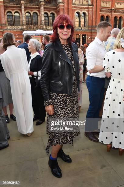 Janet Street Porter attends the Summer Party at the VA in partnership with Harrods at the Victoria and Albert Museum on June 20 2018 in London England