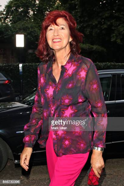Janet Street Porter sighting on September 12 2017 in London England