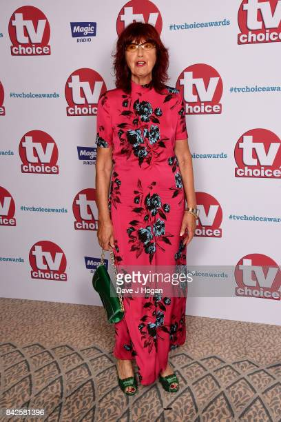 Janet StreetPorter arrives at the TV Choice Awards at The Dorchester on September 4 2017 in London England