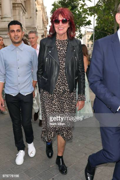 Janet StreetPorter attending The Victoria and Albert Museum Summer Party on June 20 2018 in London England
