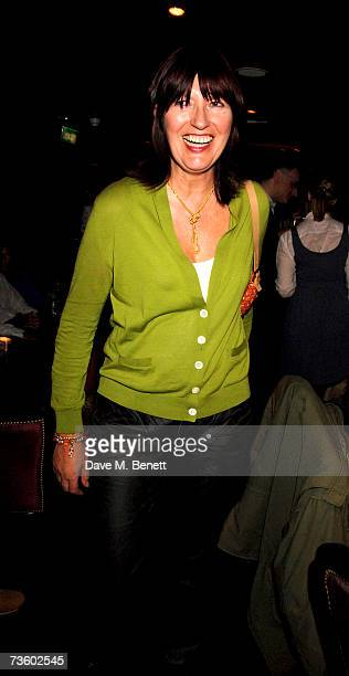 Janet StreetPorter attends private party at Ronnie Scott's hosted by Gary Farrow on March 15 2007 in London England