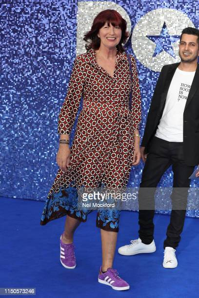 Janet StreetPorter attends the Rocketman UK premiere at Odeon Luxe Leicester Square on May 20 2019 in London England