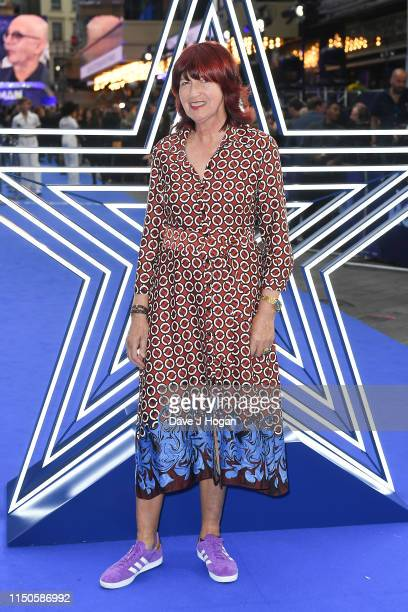 Janet StreetPorter attends the Rocketman UK premiere at Odeon Leicester Square on May 20 2019 in London England