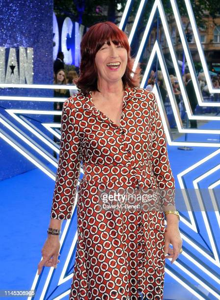 Janet StreetPorter attends the UK Premiere of Rocketman at Odeon Luxe Leicester Square on May 20 2019 in London England