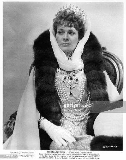 Janet Suzman as Alexandra in a scene from the film 'Nicholas And Alexandra' 1971