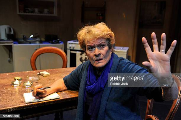 Janet Suzman as Marion in Lara Foot's Solomon and Marion directed by Lara Foot at Assembly as part of the Edinburgh Festival Fringe