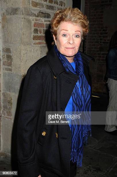 Janet Suzman attends the aftershow party of The Mysteries Yiimimangaliso at The Crypt on September 15 2009 in London England