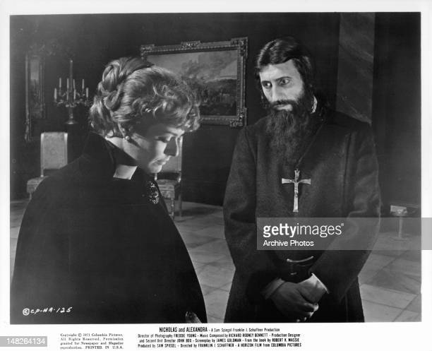 Janet Suzman seeking comfort from minister in a scene from the film 'Nicholas And Alexandra' 1971