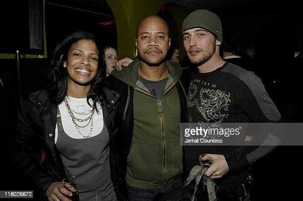 Janet Tavares Cuba Gooding Jr and Ben Townsend during 2007 Sundance Film Festival The Last Mimzy Afterparty and New Line Cinema 40th Anniversary...