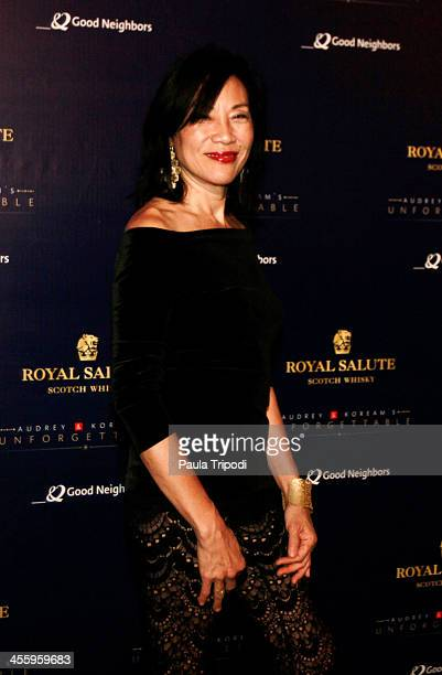 Janet Yang arrives at Park Plaza on December 7 2013 in Los Angeles California