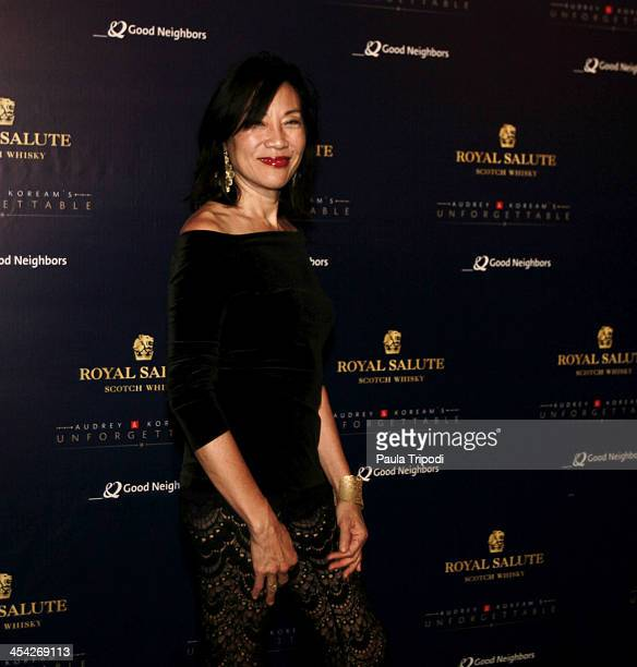 Janet Yang attends the 12th Annual Unforgettable Gala at Park Plaza on December 7 2013 in Los Angeles California