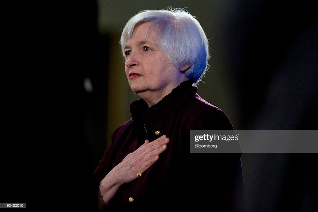 Janet Yellen Speaks At Labor Hall Of Honor Induction Ceremony : News Photo