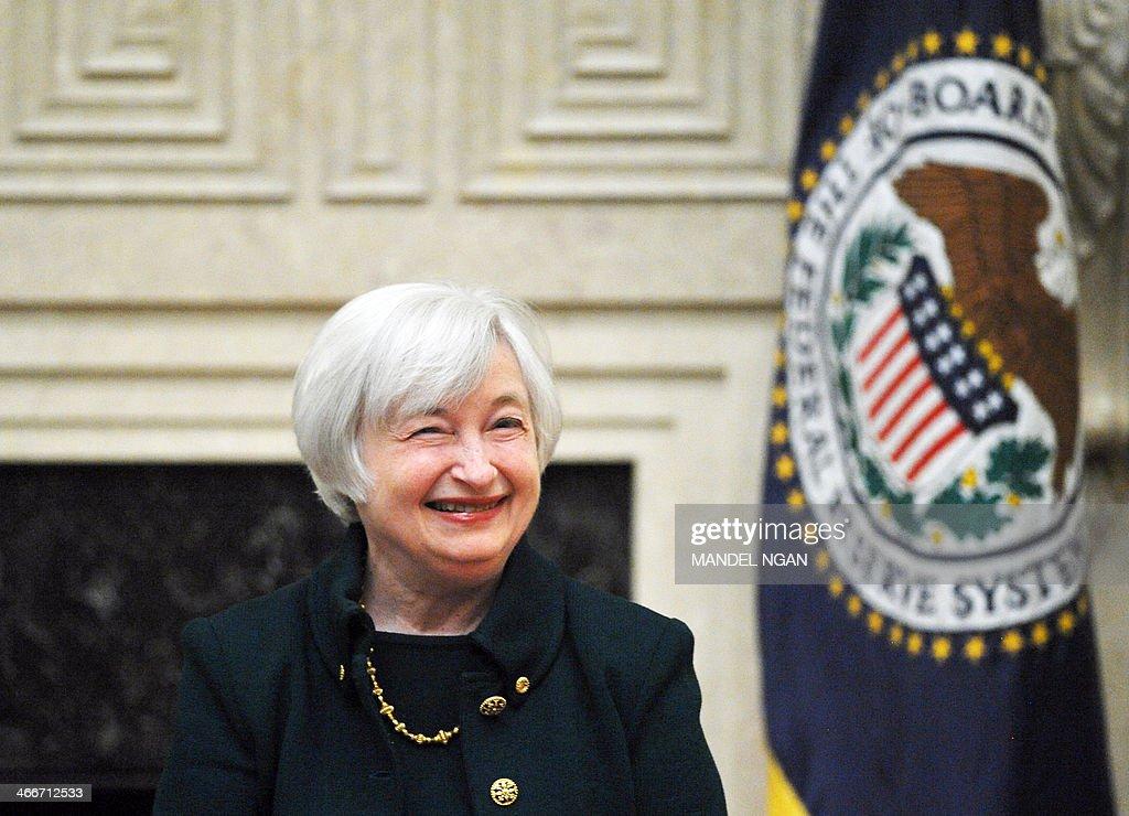 US-POLITICS-FINANCE-YELLEN : News Photo