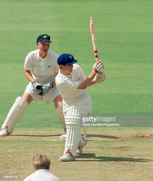 Janette Brittin batting for England against New Zealand during the Womens World Cup Final played at Lord's Cricket Ground in London 1st August 1993...