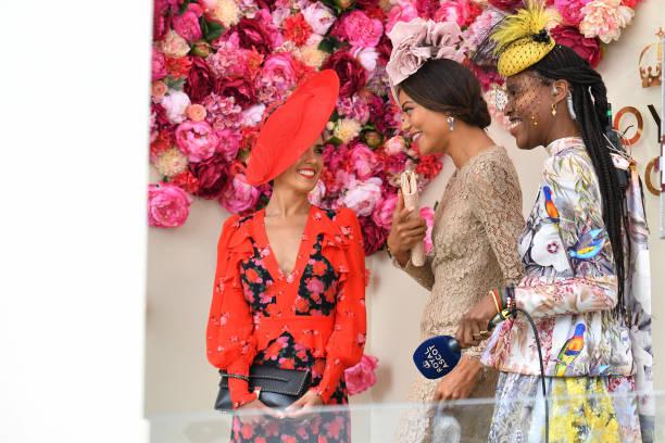 GBR: 2021 Royal Ascot - Fashion, Day Three