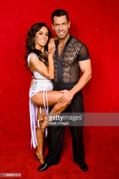 Janette Manrara and Kelvin Fletcher during the Strictly Come Dancing Arena Tour 2020 at Arena Birmingham on January 15 2020 in Birmingham England