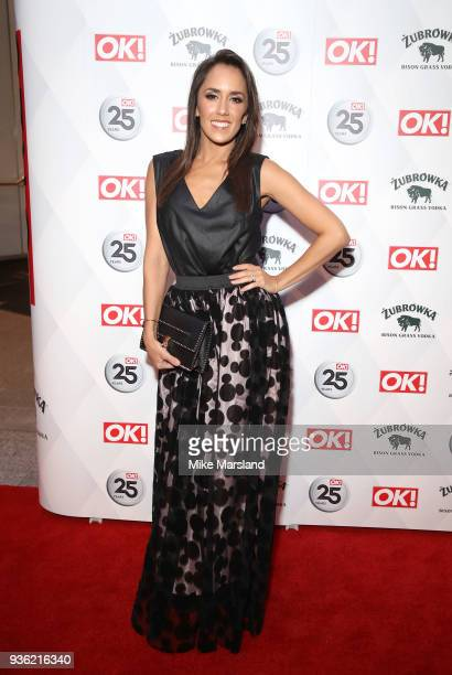Janette Manrara attends OK Magazine's 25th Anniversary Party at The View from The Shard on March 21 2018 in London England