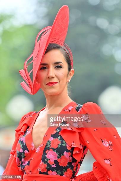 Janette Manrara attends Royal Ascot 2021 at Ascot Racecourse on June 17, 2021 in Ascot, England.