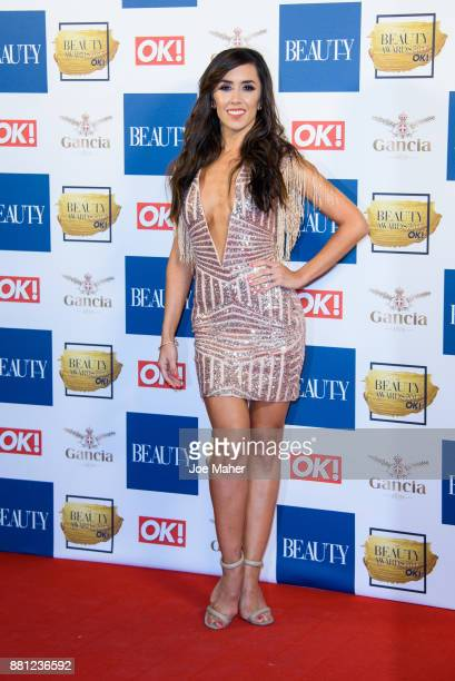 Janette Manrara attends The Beauty Awards at Tower of London on November 28 2017 in London England
