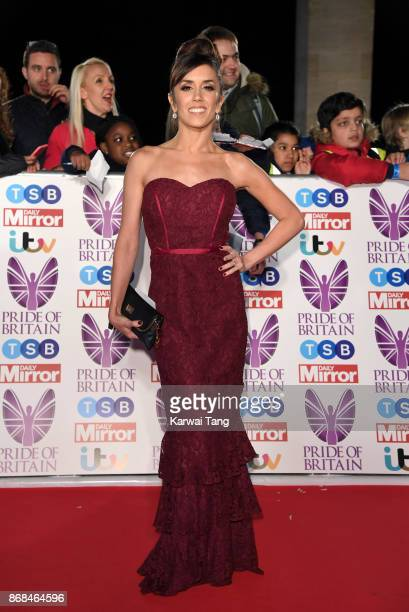 Janette Manrara attends the Pride Of Britain Awards at the Grosvenor House on October 30 2017 in London England