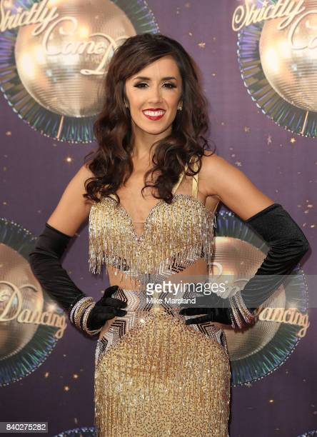 Janette Manrara attends the 'Strictly Come Dancing 2017' red carpet launch at The Piazza on August 28 2017 in London England
