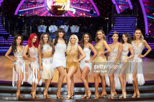 Janette Manrara Dianne Buswell Amy Dowden Emma Barton Saffron Barker Stacey Dooley Alex Scott Catherine Tyldesley Karen Hauer Katya Jones and Luba...