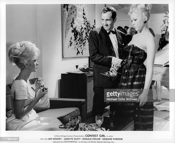 Janette Scott in a scene from the film 'Contest Girl' 1964