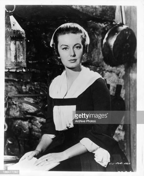 Janette Scott in publicity portrait for the film 'The Devil's Disciple' 1959
