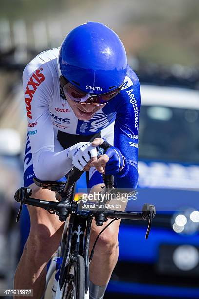 Janez Brajkovic riding for the UnitedHealthcare Pro Cycling Team during stage 3 of the Tour of the Gila on May 1 2015 in Silver City New Mexico