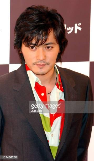 """Jang Dong-Gun during """"Brotherhood"""" - Tokyo Press Conference at Imperial Hotel in Tokyo, Japan."""