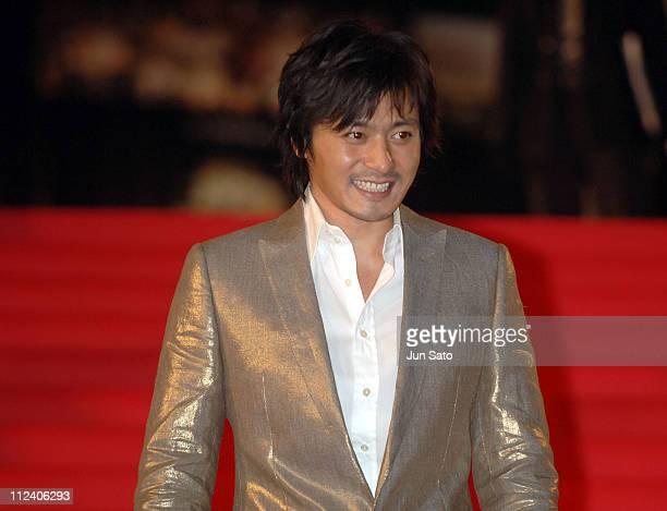 """Jang Dong-Gun during """"The Promise"""" Tokyo Premiere - Red Carpet at VIRGIN TOHO Cinemas in Tokyo, Japan."""