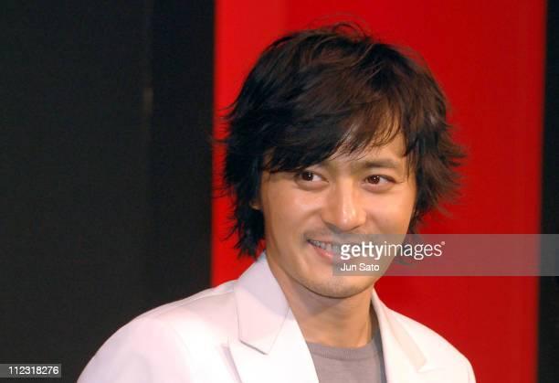 "Jang Dong-Gun during ""The Promise"" Tokyo Press Conference at Grand Hyatt Tokyo in Tokyo, Japan."