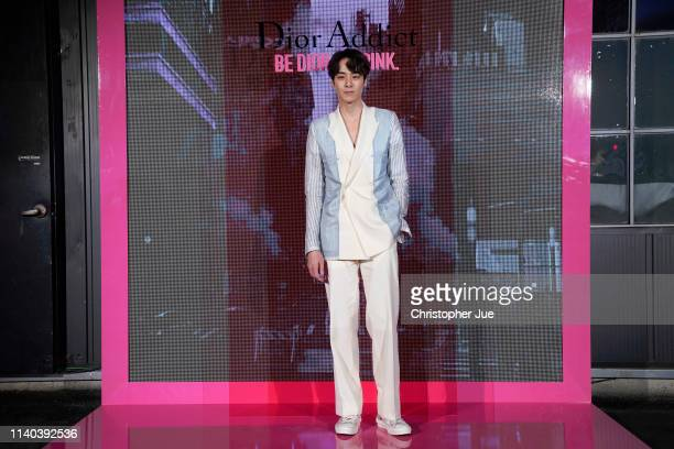 Jang Sunghoon attends Dior Addict Stellar Shine launch at Layers 57 on April 04 2019 in Seoul South Korea