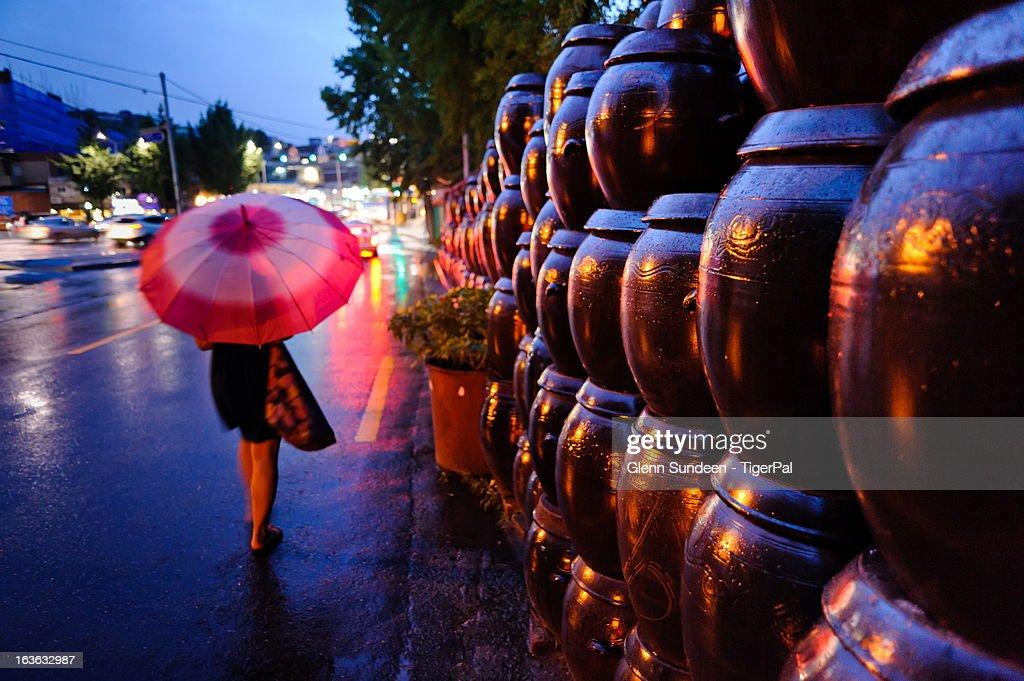 Jangma (Rainy Season) : ストックフォト