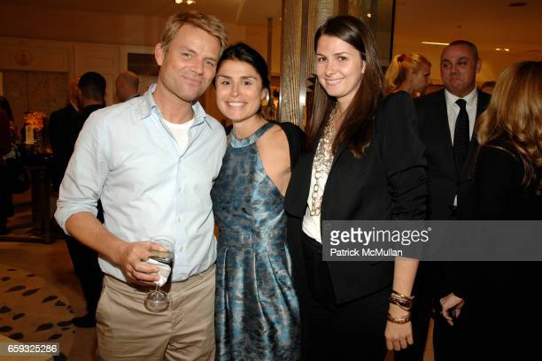 JanHendrik Schlottmann Florinka Pesenti and Elizabeth Pasternak attend TOD's Special Presentation of the FallWinter Collection Hosted By Derek Lam...