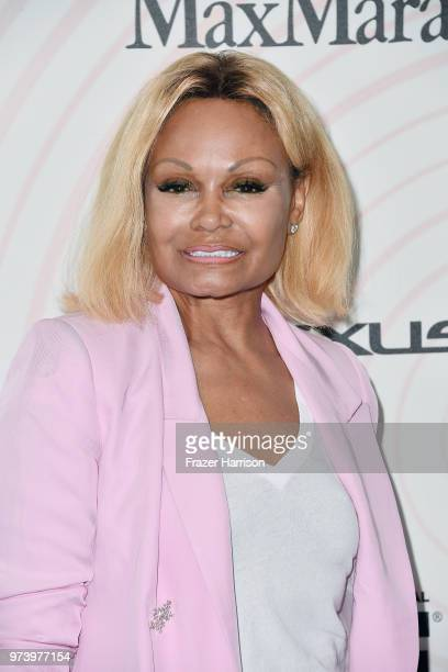 Janice Bryant Howroyd attends the Women In Film 2018 Crystal Lucy Awards presented by Max Mara Lancôme and Lexus at The Beverly Hilton Hotel on June...