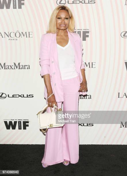 Janice Bryant Howroyd attends the Women In Film 2018 Crystal Lucy Awards held at The Beverly Hilton Hotel on June 13 2018 in Beverly Hills California