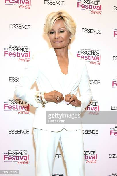 Janice Bryant Howroyd poses in the press room at the 2017 ESSENCE Festival presented by CocaCola at Ernest N Morial Convention Center on July 1 2017...
