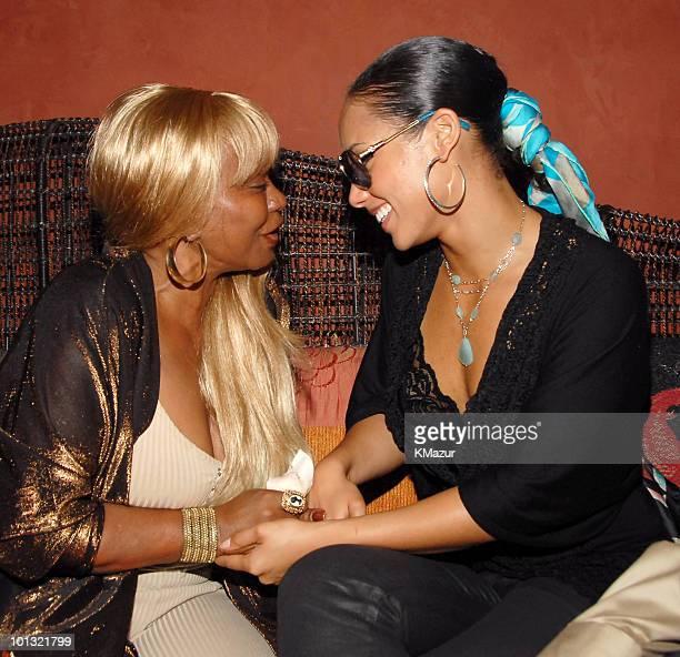 Janice Combs and Alicia Keys