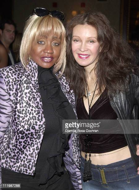 Janice Combs and Jaid Barrymore during BIO SPORT and BELLA CAFFE Launch Party at The New York Athletic Club in New York New York United States