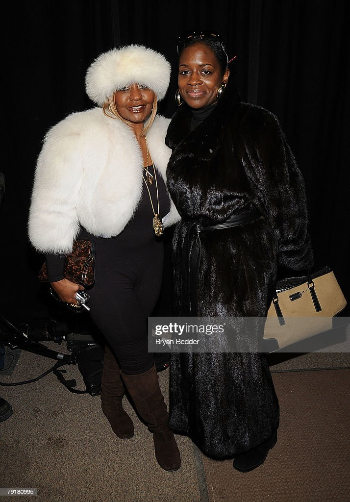 Janice Combs (L) and Keisha Combs arrive at the premiere of 'A Raisin in the Sun' held at the Eccles Theatre during the 2008 Sundance Film Festival on January 23, 2008 in Park City, Utah.