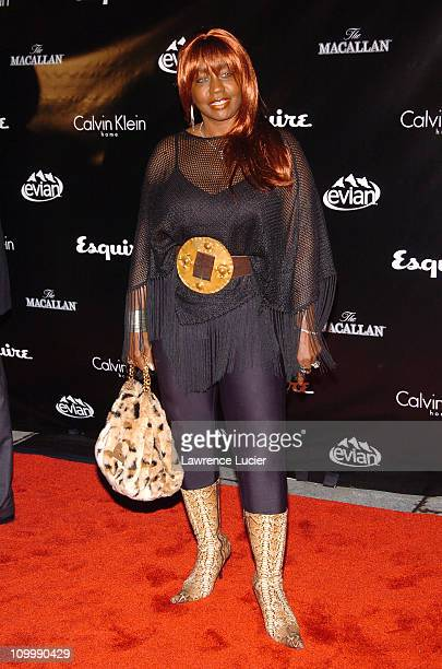 Janice Combs during Esquire Unveils Jessica Biel as Sexiest Woman Alive at Esquire Downtown in New York NY United States