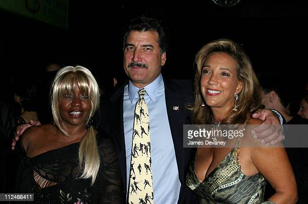 Janice Combs Keith Hernandez and Denise Rich during Denise Rich and the GP Foundation for Cancer Research Celebrate the Launch of the Angel Ball at...