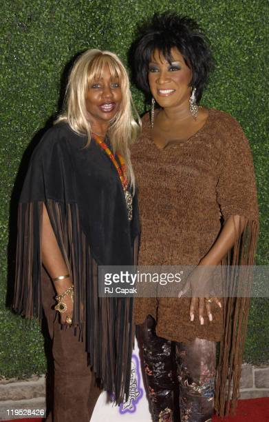 Janice Combs Patti LaBelle during Patti LaBelle Hosts Holiday Party to Launch Management Company at Estate in New York New York United States